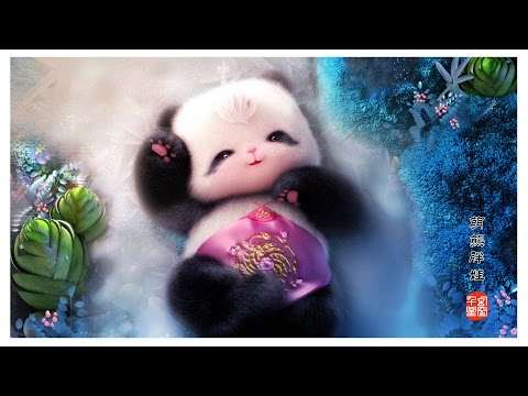 The most lovely baby panda -- 胖娃上成都 --chinese cartoon