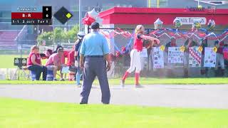 B-R vs. Franklin Softball