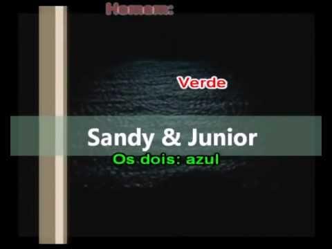 Sandy e Junior - A lenda Karaoke Varão Produções