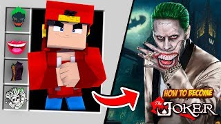 Minecraft Adventure - HOW TO BECOME THE JOKER!!!