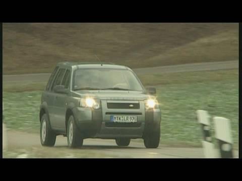 land rover freelander td4: motorvision testet den britischen