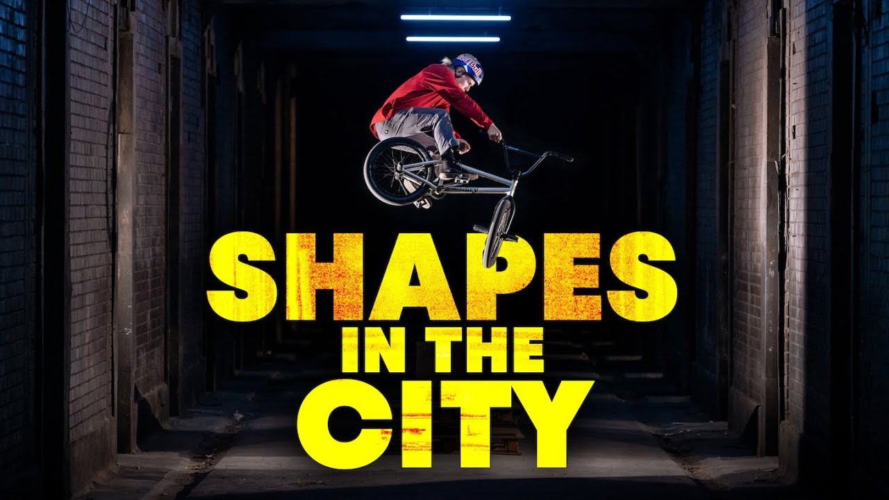 Shapes In The City with Murray Loubser | BMX Street Riding