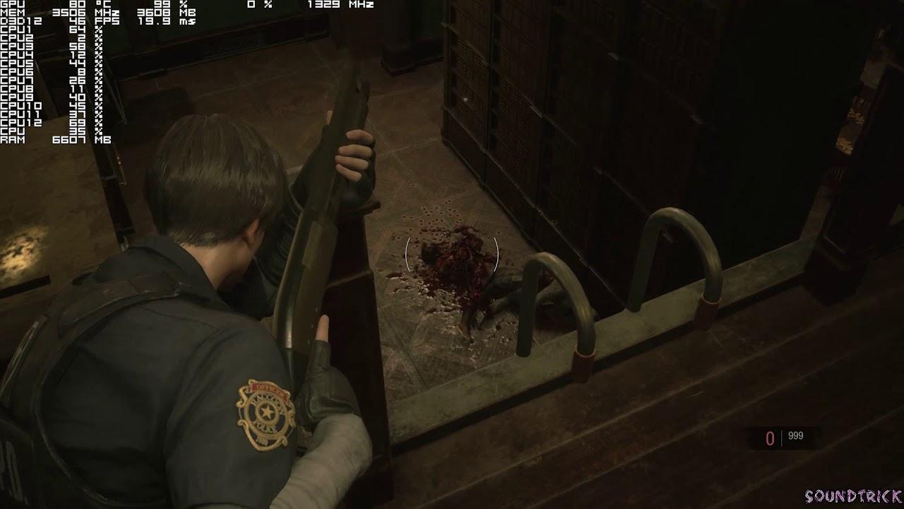 Crazy Physics Resident Evil 2 1-Shot Demo