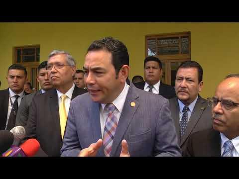 Jimmy Morales culpa a Rivas y empresa de uso de helicóptero de Mario Estrada. Estos lo desmienten
