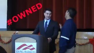 High School Teacher Confronts Ben Shapiro, Instantly Regrets It