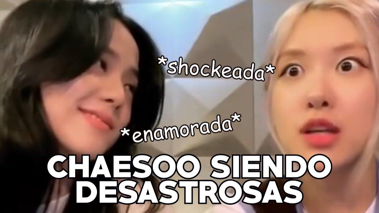Rosé y Jisoo siendo un dúo desastroso (Sub español)