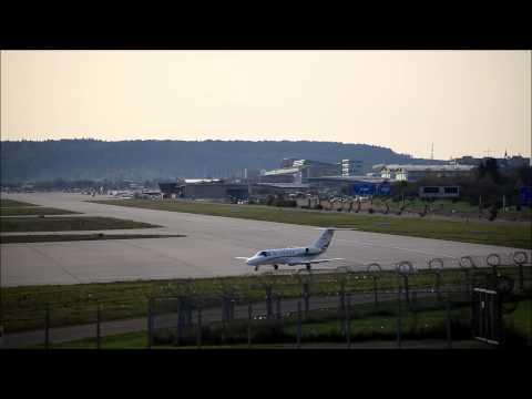 Stuttgart Airport - Taxi & Takeoff Cessna Citation