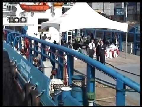 MENERGY INTERNATIONAL - LAUNCHING OF DUTCH BLUE VESSEL IN GHANA ON TV3