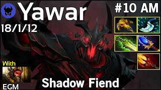 Yawar [FWD] plays Shadow Fiend!!! Dota 2 7.20