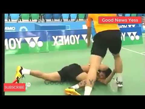 Free Download Perkelahian Paling Brutal Badminton 7c Lindan  Bukan Kevin  Zhan Mp3 dan Mp4