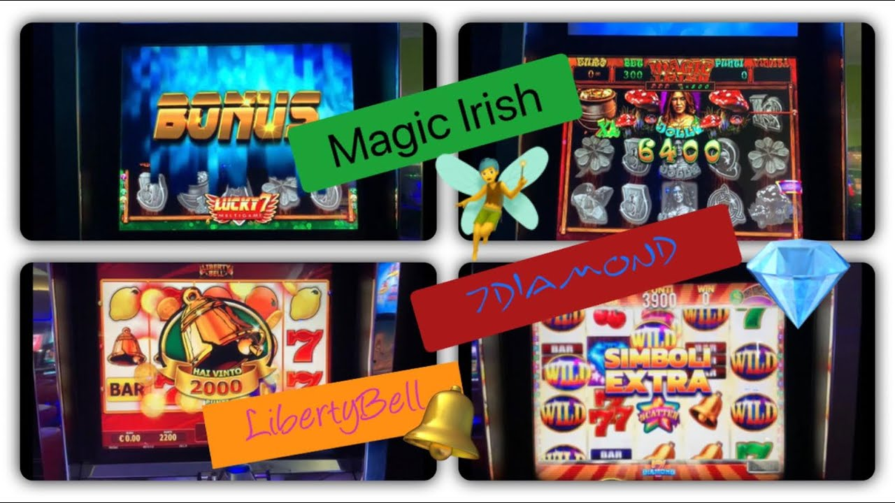 Slot da Bar e Tabacchi-Magic Irish ?‍♀️ Liberty Bell ? 7Diamond ?