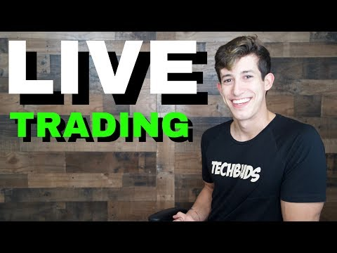 April Live Trading With Ricky Gutierrez