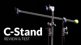 C-Stand von Manfrotto - Bestes Lichtstativ? | Review & Tipps