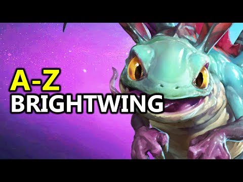 ♥ A - Z Brightwing - Heroes of the Storm (HotS Gameplay)