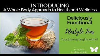 Not Just Your Ordinary Tea. Start Your Journey from Within! Supports Whole body Health & Wellness.