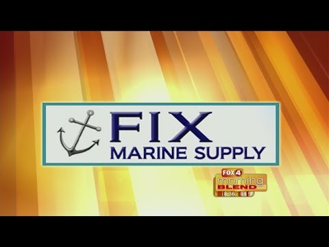 Marine Minute - Fix Marine Supply: How to maintain your boat lift 04/20/2015