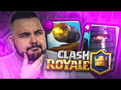 Cannone a Rotelle e Principe Nero | Clash Royale