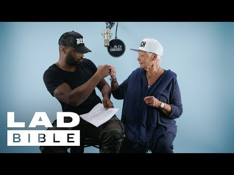 This Video of Judi Dench Rapping Is All You Need Today - Watch Judi