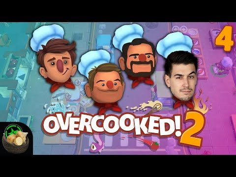 Couch Potatoes Week - Overcooked 2 (#4) | Let's Play