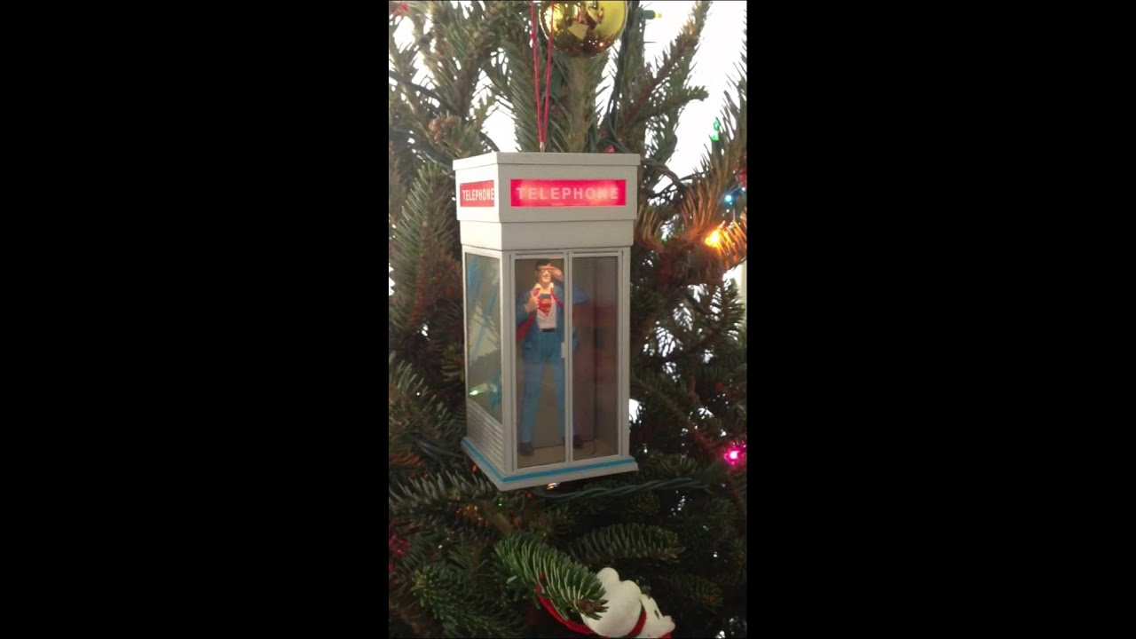 Clark Kent / Superman Christmas ornament - YouTube