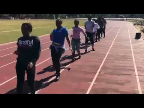Dillon High School Marching Wildcats Almuni Practice for Homecoming Performance 2016