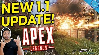 New Apex Legends Patch 1.1 Arrives and Crashed EVERYONE! Account Progress Wiped, Bug Fixes and More!