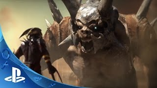 Shadow of the Beast - Gameplay Mechanics | PS4