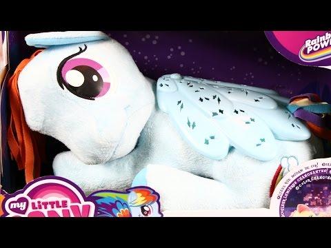 Rainbow Dash Plush - Twinkle Star Lights / Rainbow Dash Z Projektorem - My Little Pony