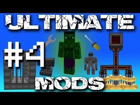 Minecraft Ultimate Mods - Quartz Grinder! #4