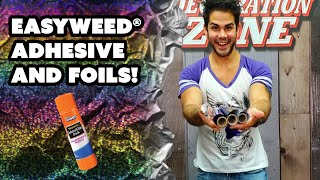 Cool Designs With Easyweed® Adhesive and Foils! - Decoration Zone