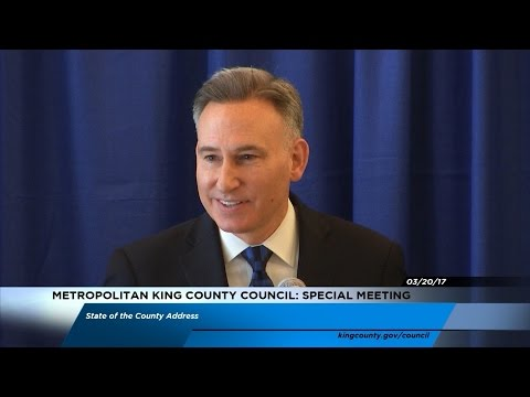 Executive Dow Constantine's State of the County Address 2017