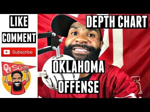 Oklahoma Sooners Football Offensive Depth Chart Spring 2018