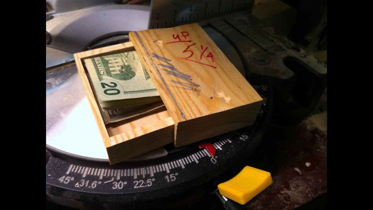 Homemade Secret Box Hidden Compartment Everybody Needs One
