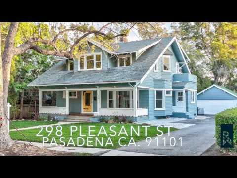 298 Pleasant St. Pasadena CA. 91101