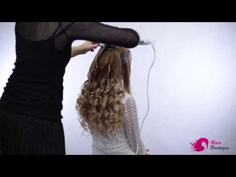 Кудри с накладными волосами от компании Hair Boutique