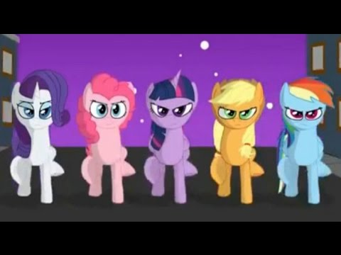 My Little Pony  - Cool Armor and Horse - Friendship Is Magic (michael jackson songs)