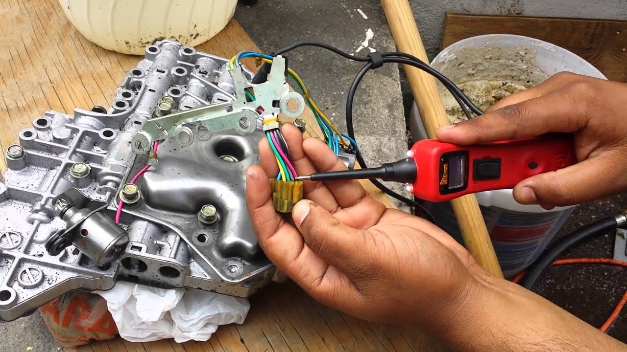 hight resolution of nissan infiniti transmission slips transmission solenoids diagnosis and location must watch