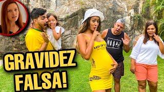 A DESCOBERTA DA GRAVIDEZ FALSA! *novelinha*