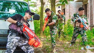 LTT Game Nerf War : Winter Warriors SEAL X Nerf Guns Fight Criminal Group Vengeance For Squad