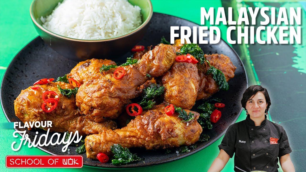 AMAZING Malaysian Fried Chicken Recipe! | Flavour Fridays