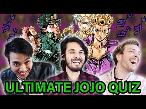 The ULTIMATE JoJo QUIZ Is IMPOSSIBLE. (ft. Gigguk & CDawgVA)