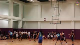 基孝女子籃球學界四強賽事之精華片段