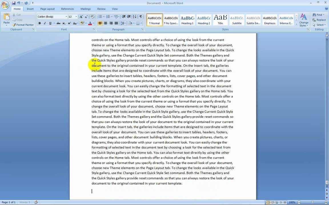 word document essay Setting up a paper in apa style using microsoft word 2007 open microsoft word 2007 by default word opens a new blank document it is easiest if you.