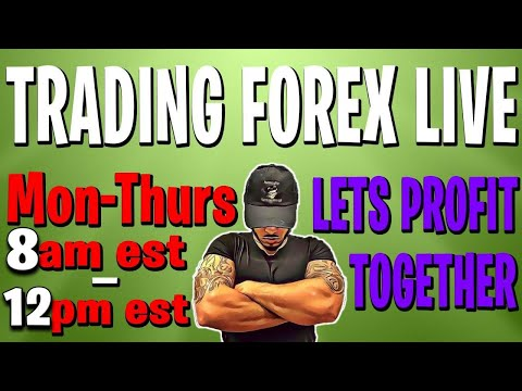 FOREX TRADING LIVE PROFITS! MAJOR PAIRS, GOLD & INDICES