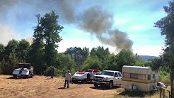 Fire Southern Oregon 7/17/18 Central Point