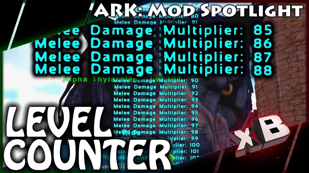 DINO STAT LEVEL COUNTER! :: Mod Spotlight :: ARK: Survival Evolved