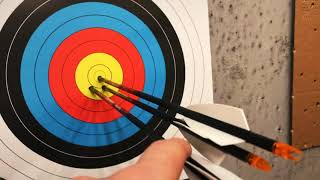 W//points 900 Spine Uncut Details about  /6 Black Eagle Intrepid Target Arrows Lot GTG-4