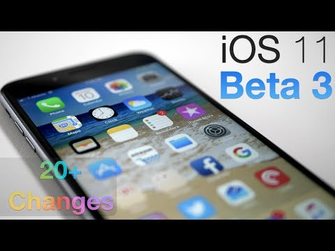 iOS 11 Beta 3 - What's New? - Over 20 new Changes!