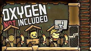 Грамотно начинаем строить колонию!  Oxygen Not Included