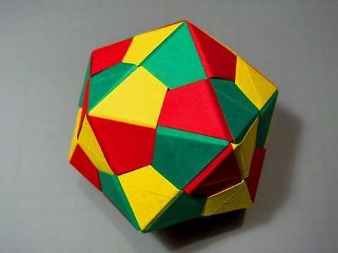 Modular: free diagrams instructing you how to fold unit origami ... | 360x480